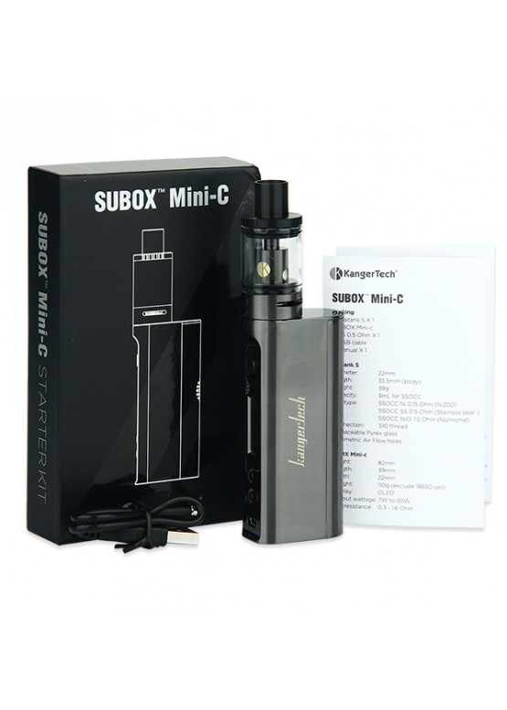 Kanger subox mini c starter, kanger subox mini c starter kit обзор