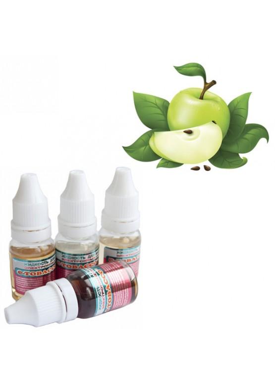 Жидкость для электронных сигарет E-tobacco яблоко