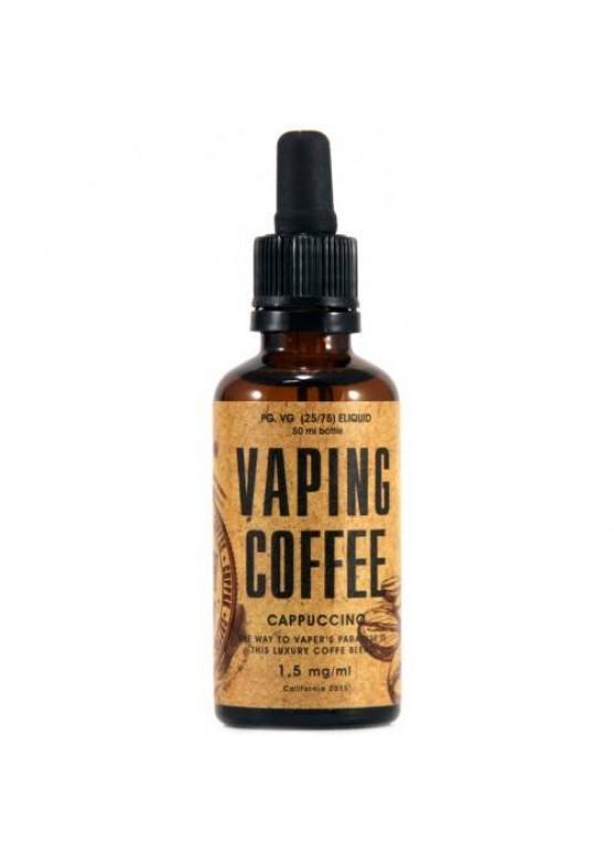 Жидкость Vaping Coffee Cappuccino 50 мл