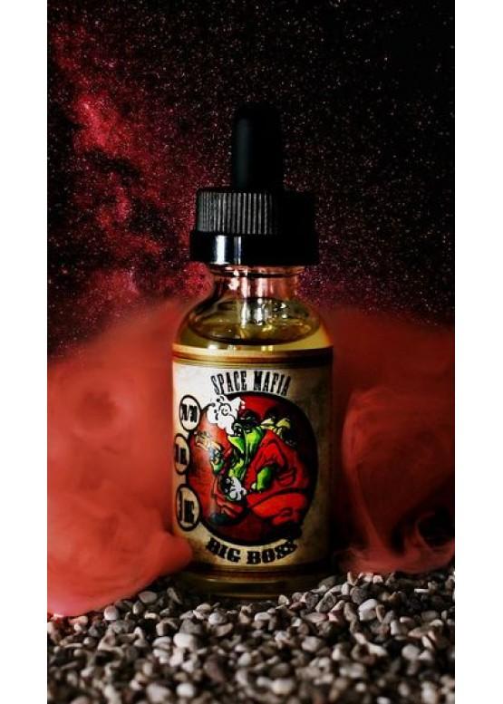 Жидкость для электронных сигарет Big Boss 0 мг/30 мл SPACE MAFIA
