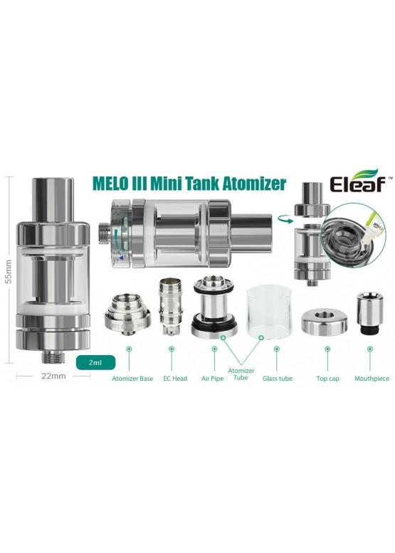 Eleaf Melo 3 и Melo 3 Mini Sub-Ом