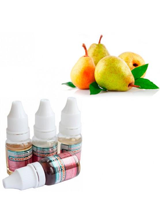 """Жидкость для электронных сигарет E-tobacco """"Груша"""" 10 мл"""
