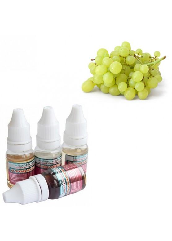 Жидкость для электронных сигарет e-Tobacco белый виноград 10 мл