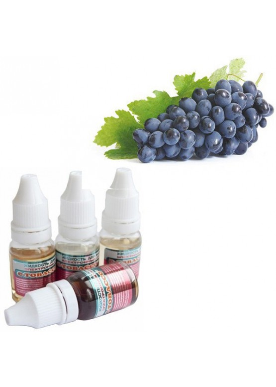 Жидкость e-Tobacco виноград изабелла 10 мл